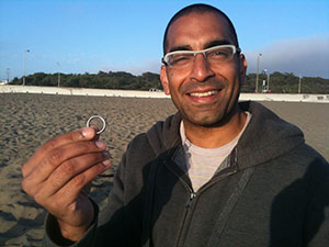 Lost Wedding Band Found on Ocean Beach
