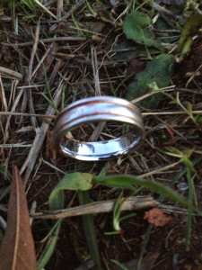 TIMS WHITE GOLD WEDDING RING