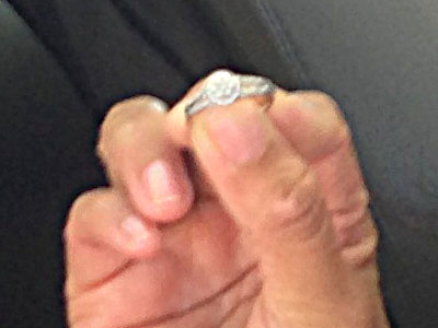 look at all the diamonds-lost diamond ring found in san jose