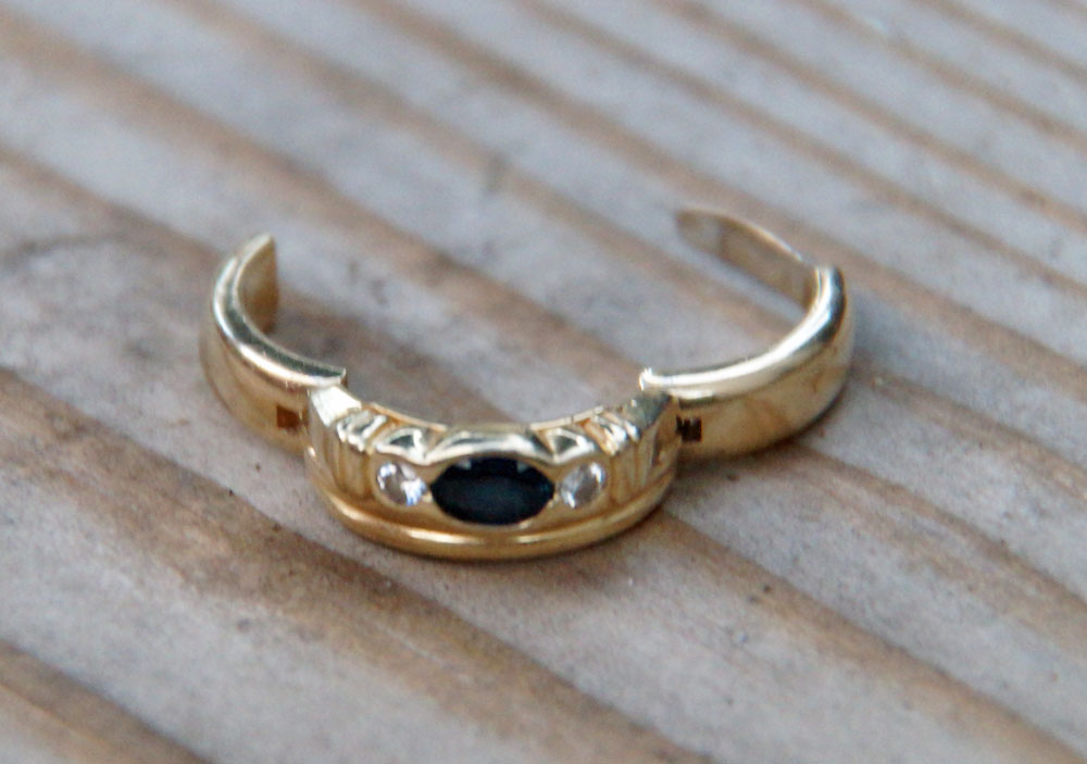 Lost Ring in Garden, Don't Waste your Time Renting a Metal ...