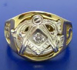 Mason's 32nd degree ring 1