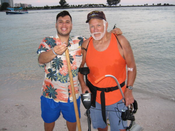 Clearwater beach lost and found Madeira Indian Rocks detector rental (2)